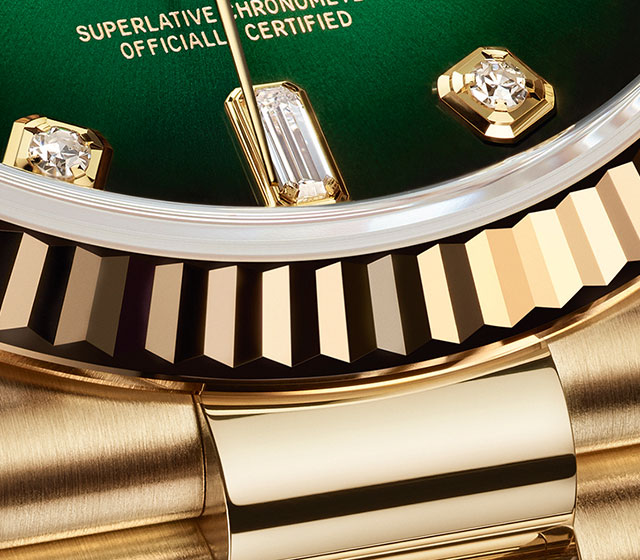 The day-date precious metals
