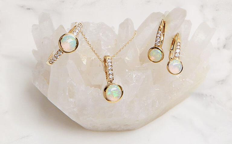 October Birthstone Opal Jewelry