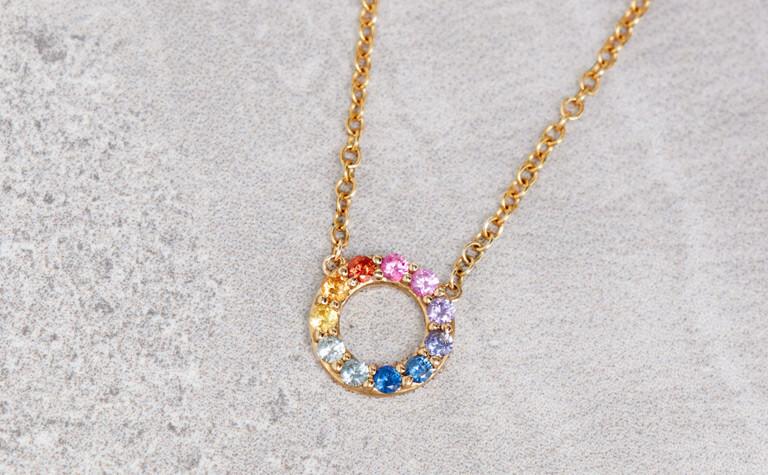 Rainbow Sapphire Mini Circle   11999141