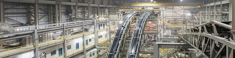 Ikuma Diamond Processing Plant Interior