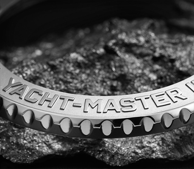 The yacht-master bezel
