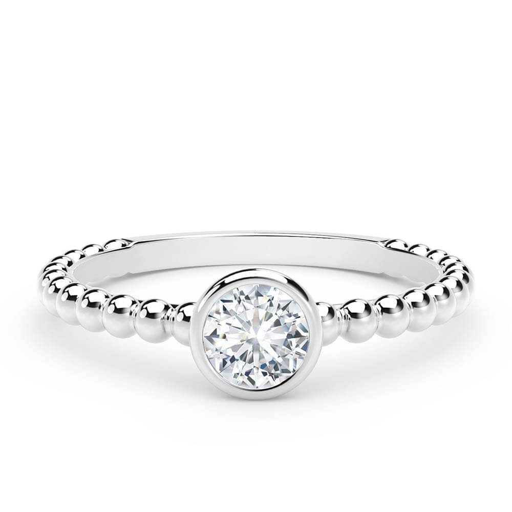 9c0199178e54f The Forevermark Tribute™ Collection Diamond Stackable Ring 18K