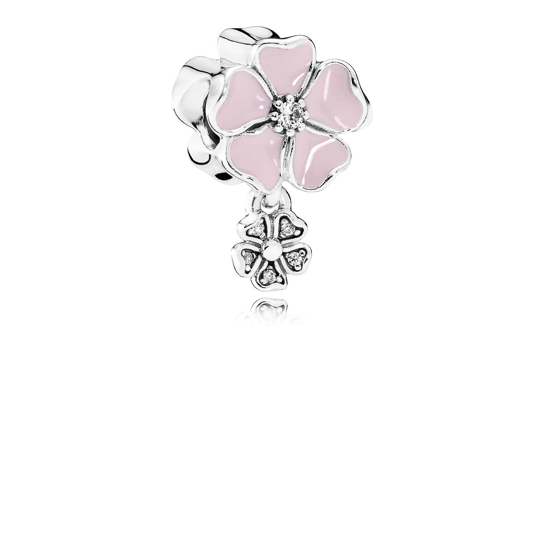 Pandora Pink Poetic Blooms Dangle Charm 791827en40 Ben Bridge