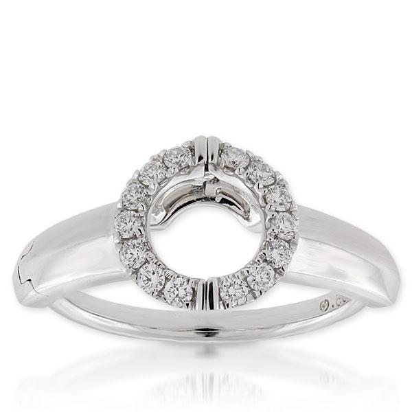Diamond Insert Ring 14k Ben Bridge Jeweler