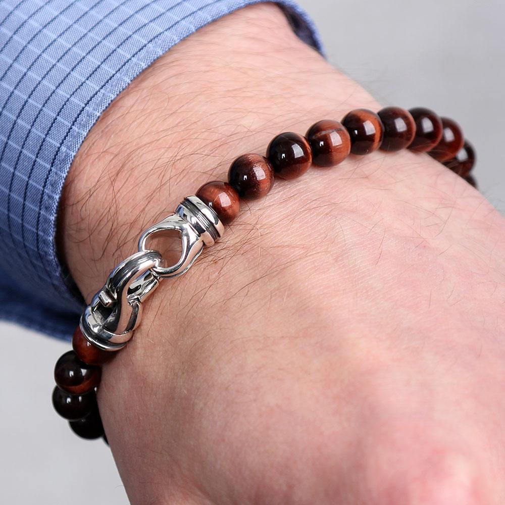 Men S Tiger Eye Bracelet Ben Bridge Jeweler