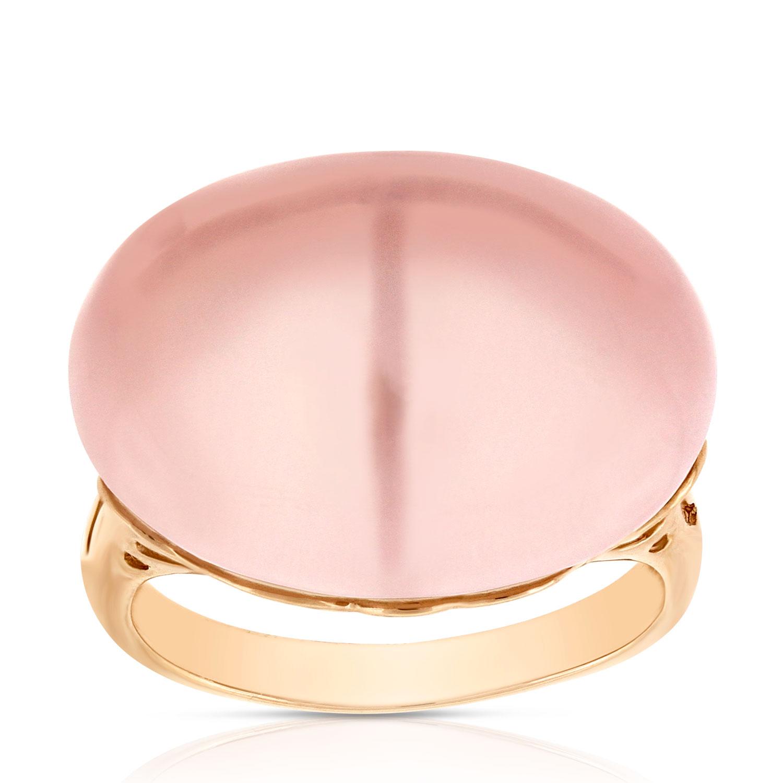 Rose Gold Pink Quartz Ring 14K | Ben Bridge Jeweler