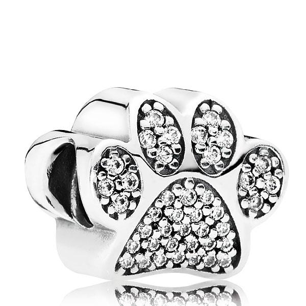 Pandora Paw Prints Charm 791714cz Ben Bridge Jeweler