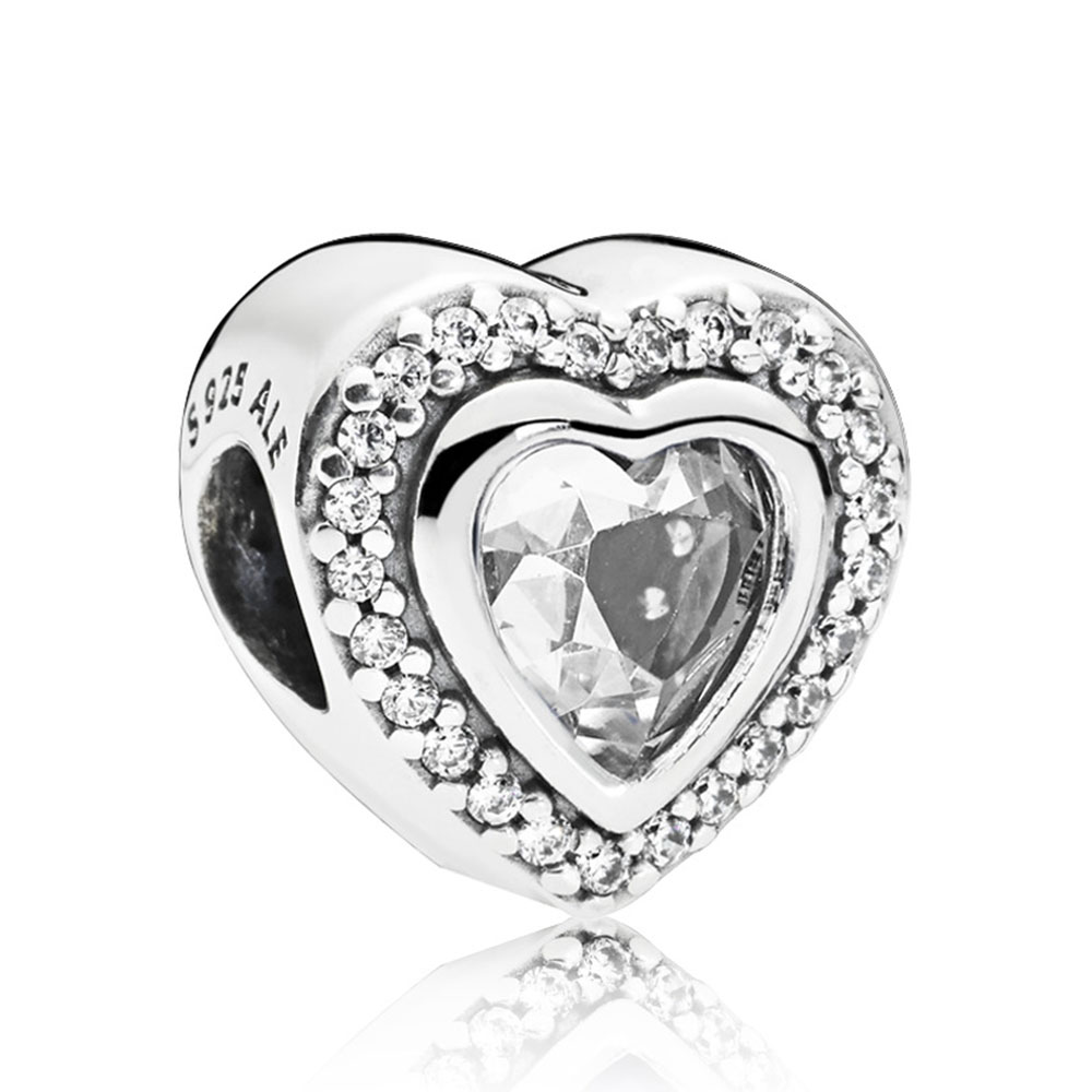 b31c83b12acb6 Pandora Sparkling Love CZ Charm
