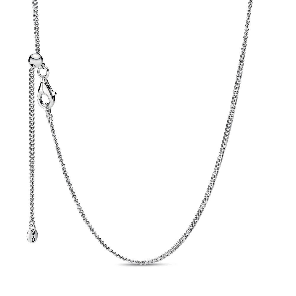 Pandora Adjustable Curb Chain Necklace 398283 60 Ben Bridge Jeweler