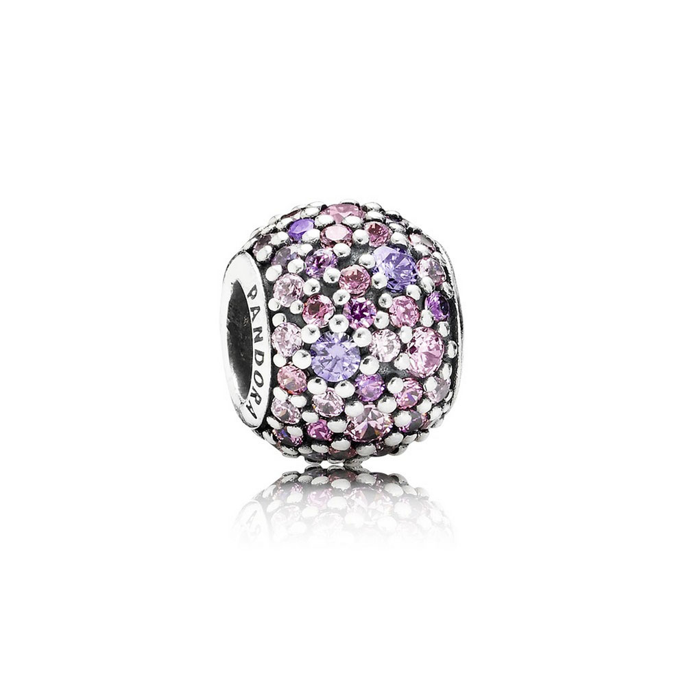Pandora Charm Jewelry: PANDORA Pavé Lights Charm - 791261ACZMX