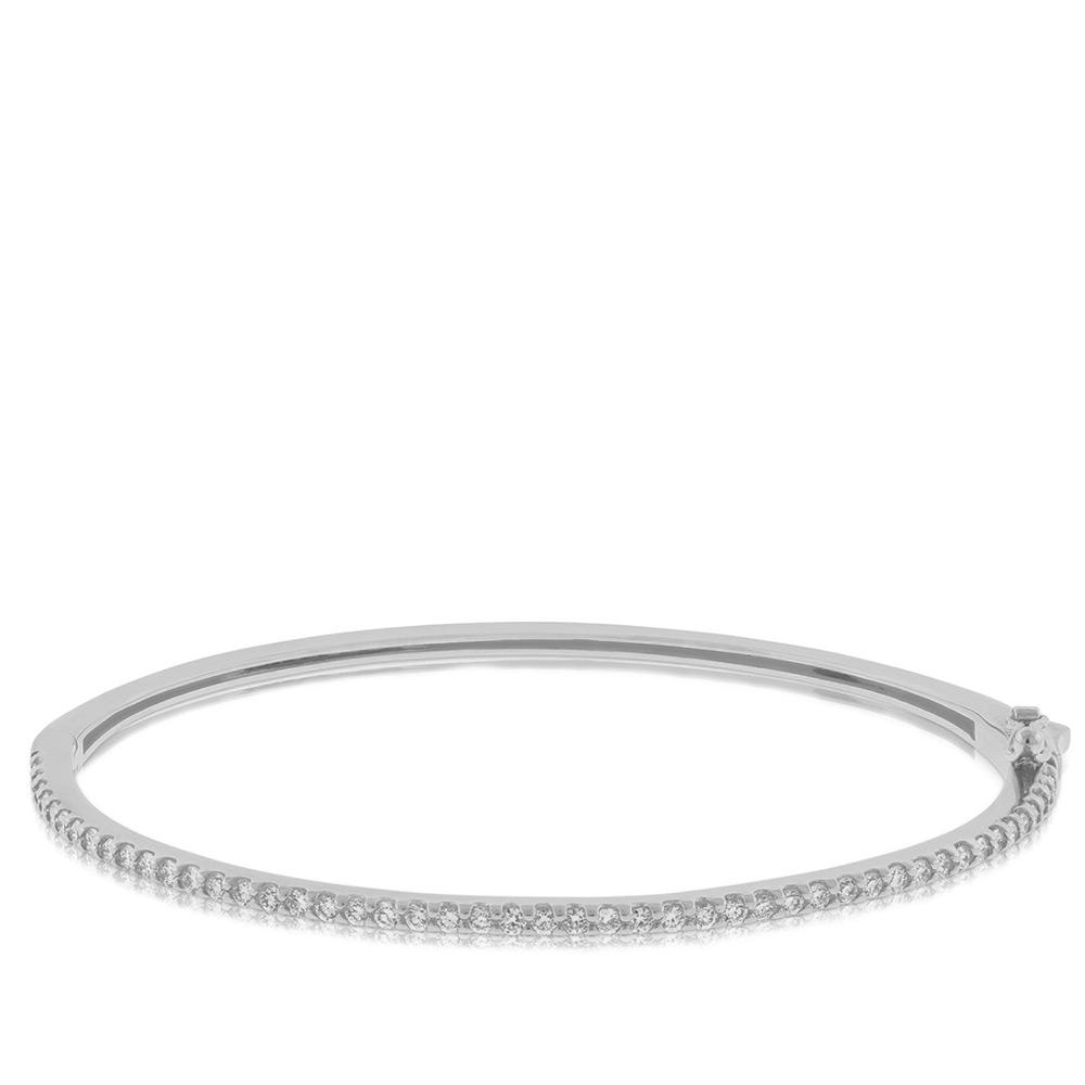 bracelet made gold italian carat bangles diamond product bangle diamonds of