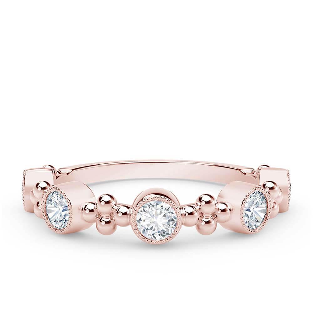 The Forevermark Tribute Collection Rose Gold Diamond Ring 18k Ben Bridge Jeweler