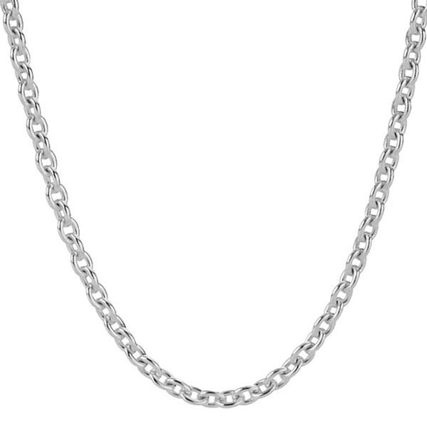 Pandora Silver Necklace 50cm: PANDORA Liquid Silver Necklace