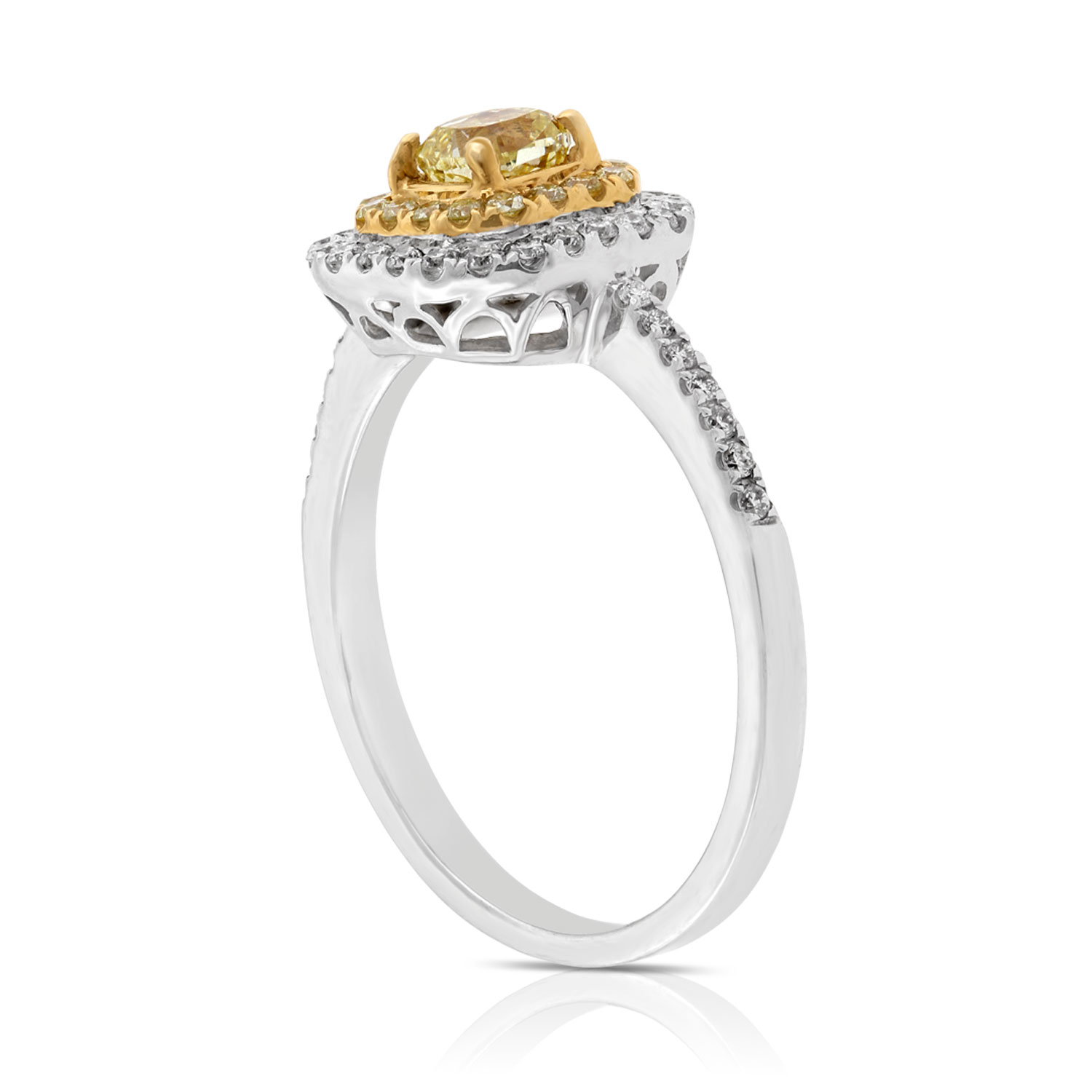 cusion gia certified diamond ring cushion halo engagement wholesale product