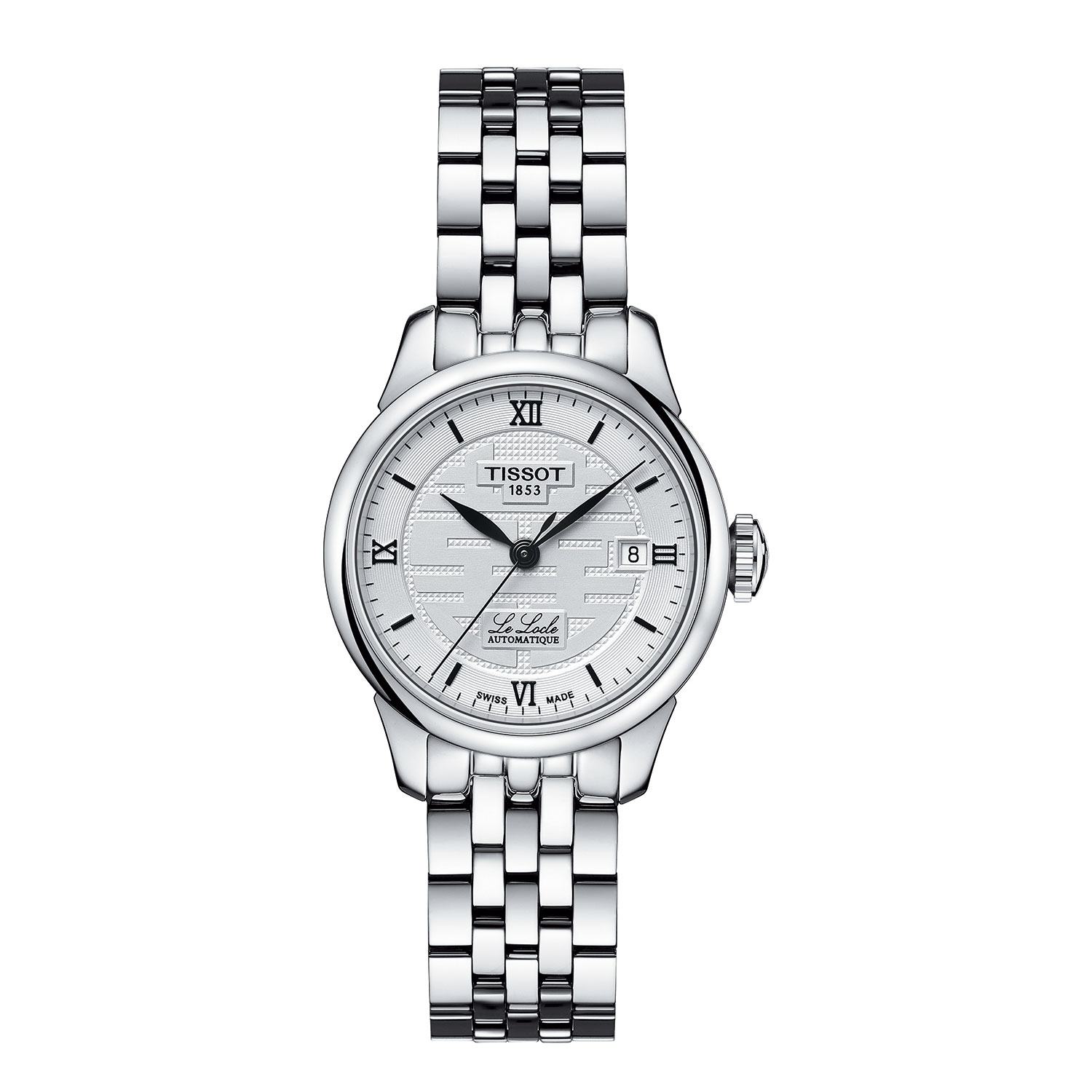 572c0fc27 Tissot Le Locle Double Happiness Lady's Automatic Watch - T41118335 ...