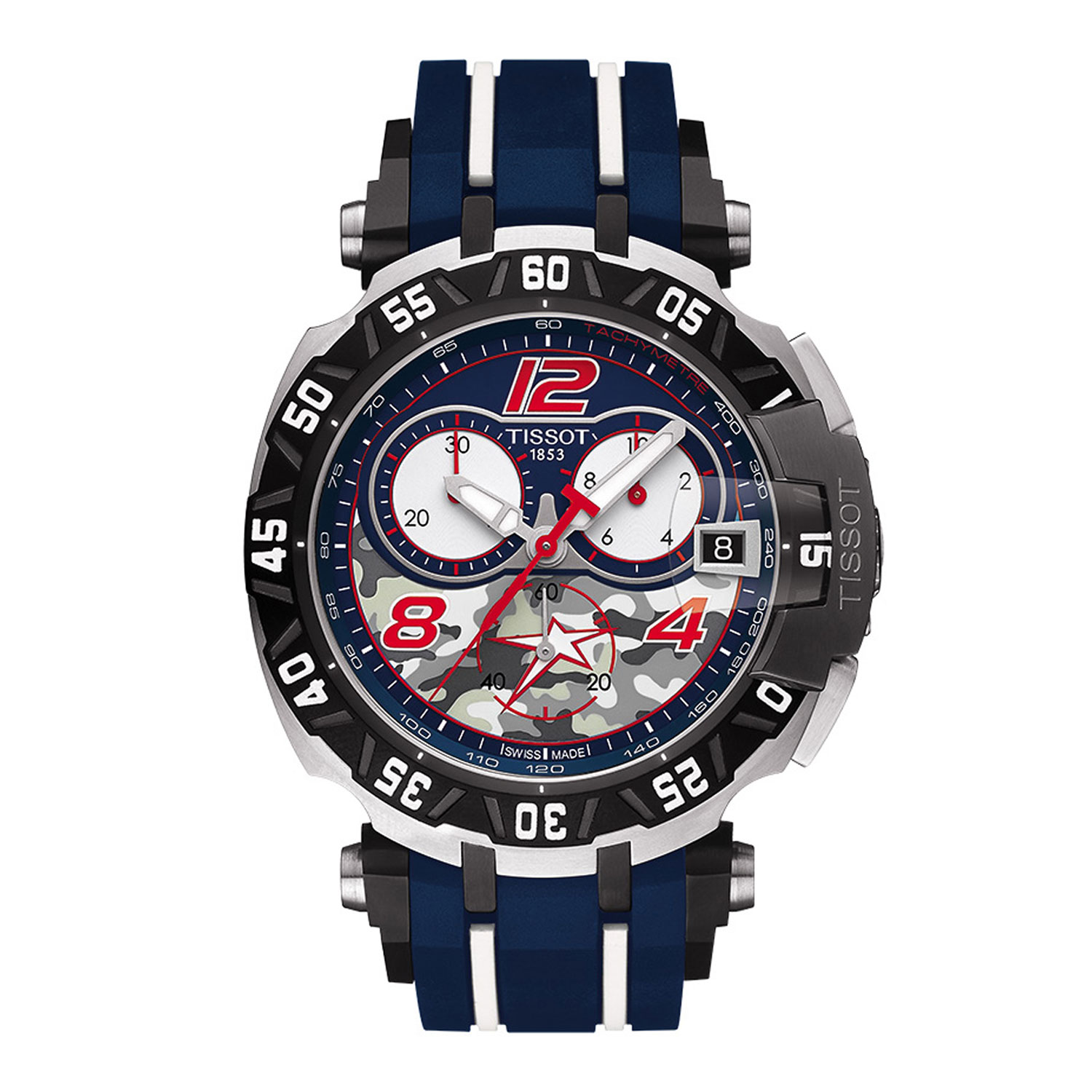 e9680dcef Tissot Limited Edition Nicky Hayden Chrono T-Race T-Sport Quartz ...