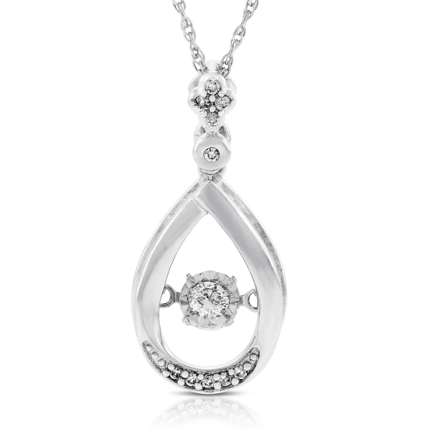 diamond shaped ballerina and london diamonds green product pendant palladium topaz shape in blue style white pear