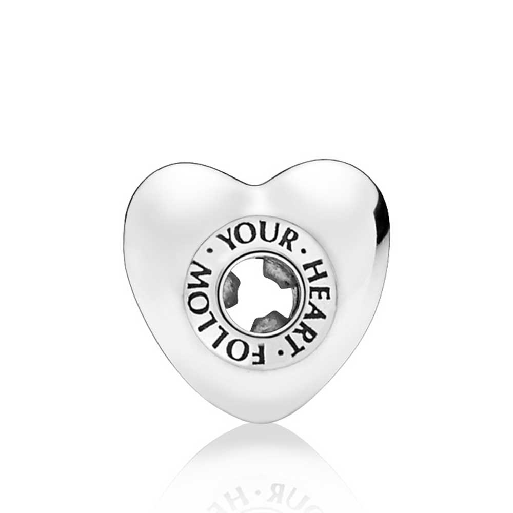 Pandora Essence Follow Your Heart Spacer Charm 797282