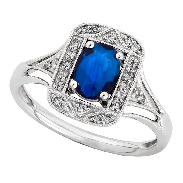 kohls wedding rings sapphire amp ring 14k ben bridge jeweler 5339