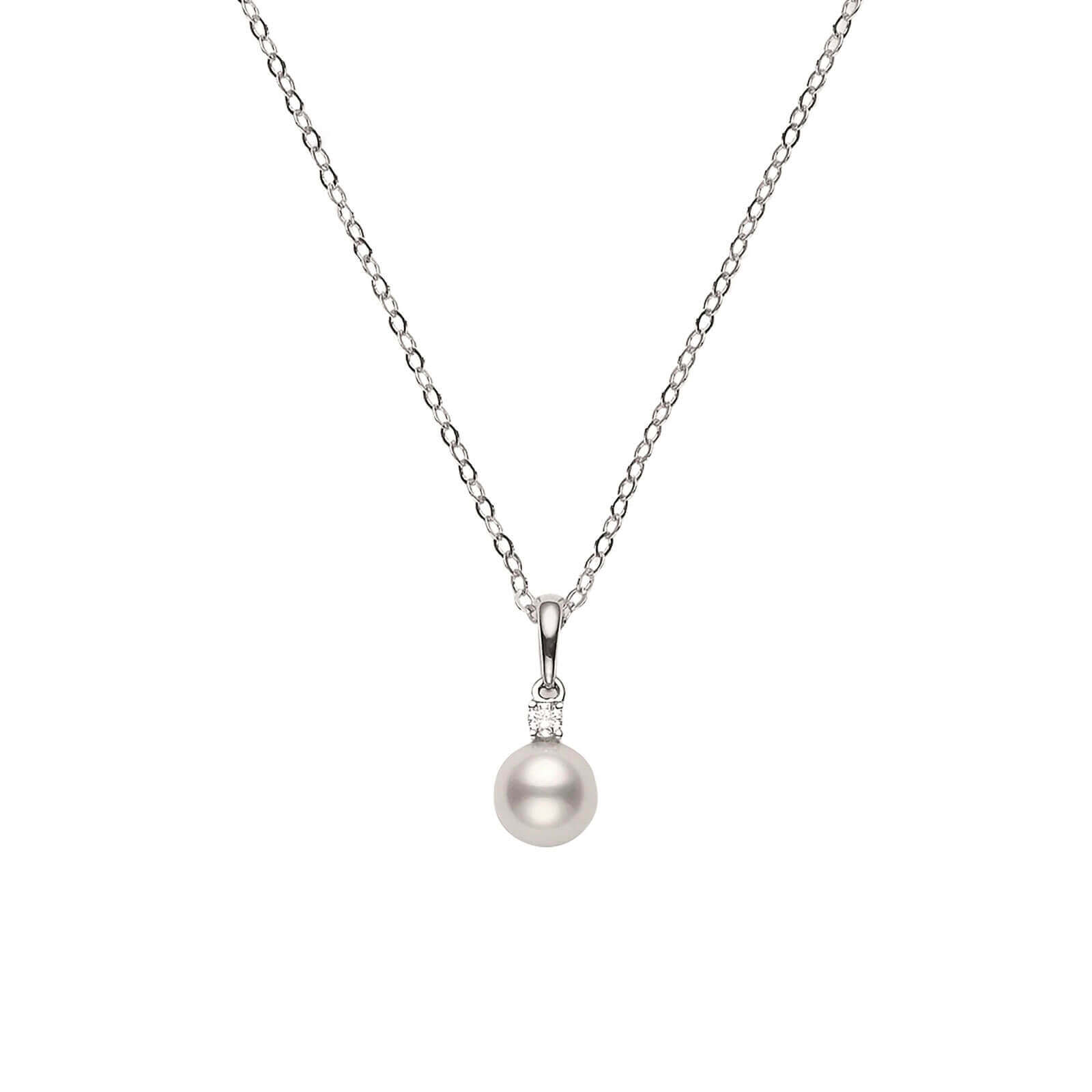 products realreal enlarged necklaces mikimoto necklace pendant pearl jewelry the