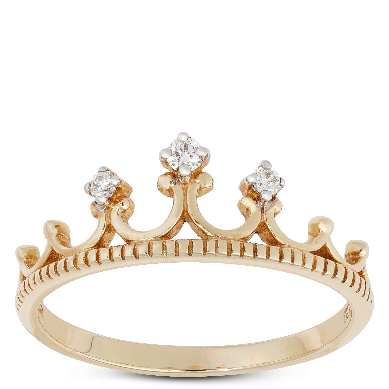 Diamond Crown Ring 14k Ben Bridge Jeweler