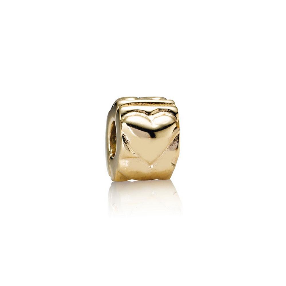 Pandora Heart Clip 14k 750243 Ben Bridge Jeweler