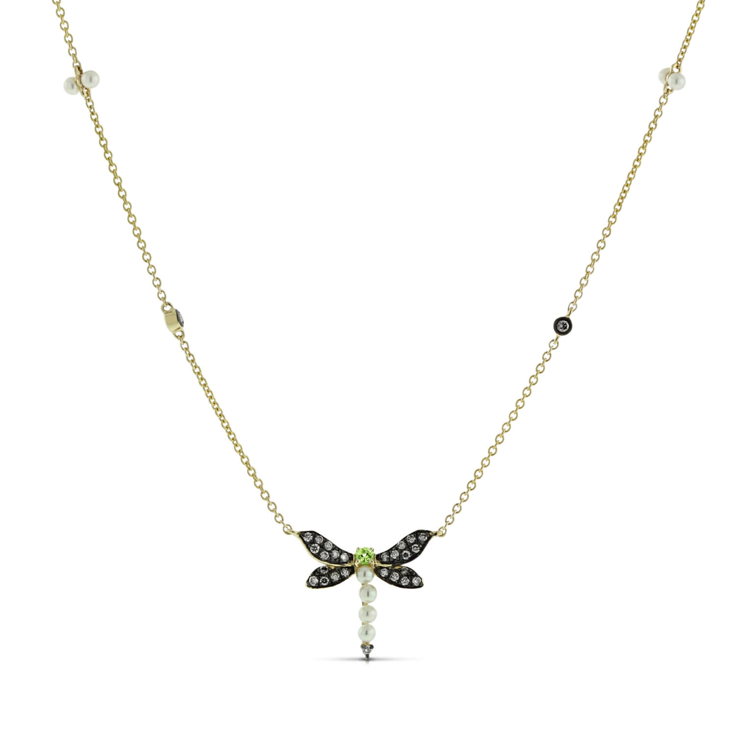 af bling jewelry inch dragonfly winged sterling open necklace silver