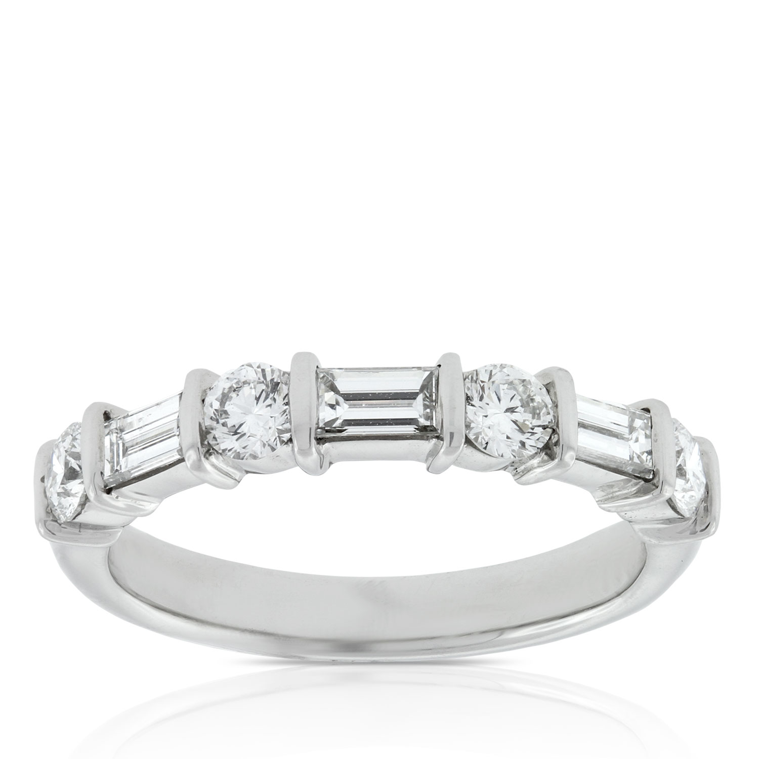 band ctw next diamond ring product baguette rings platinum previous eternity wedding