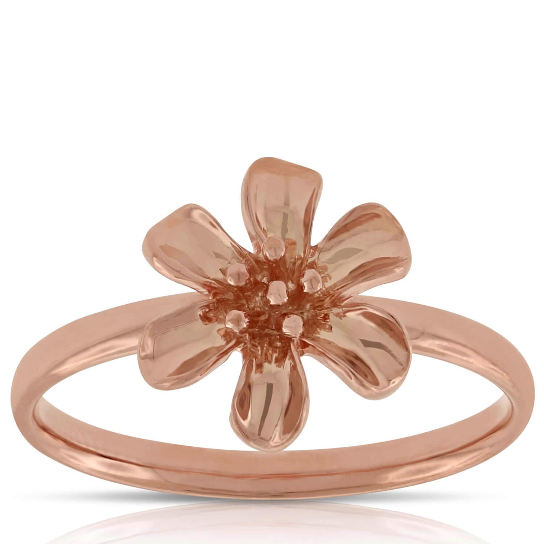 Rose Gold Flower Ring 14k Ben Bridge Jeweler