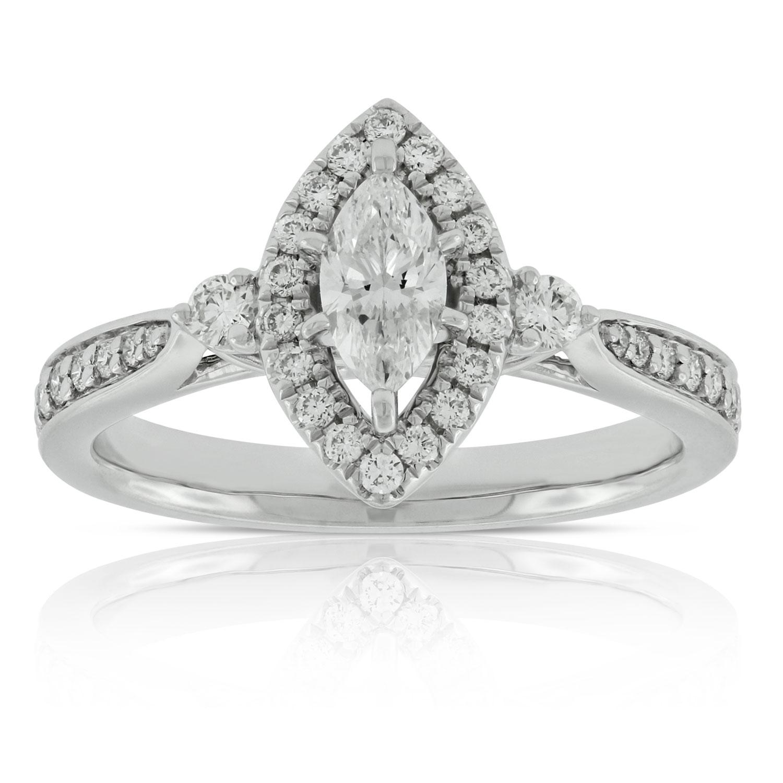 Marquise Diamond Ring 14k Ben Bridge Jeweler