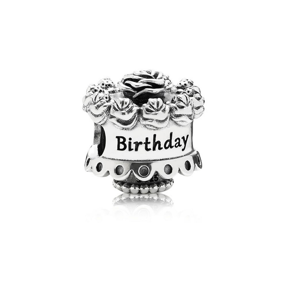 Pleasant Pandora Happy Birthday Cake Charm 791289 Ben Bridge Jeweler Birthday Cards Printable Opercafe Filternl