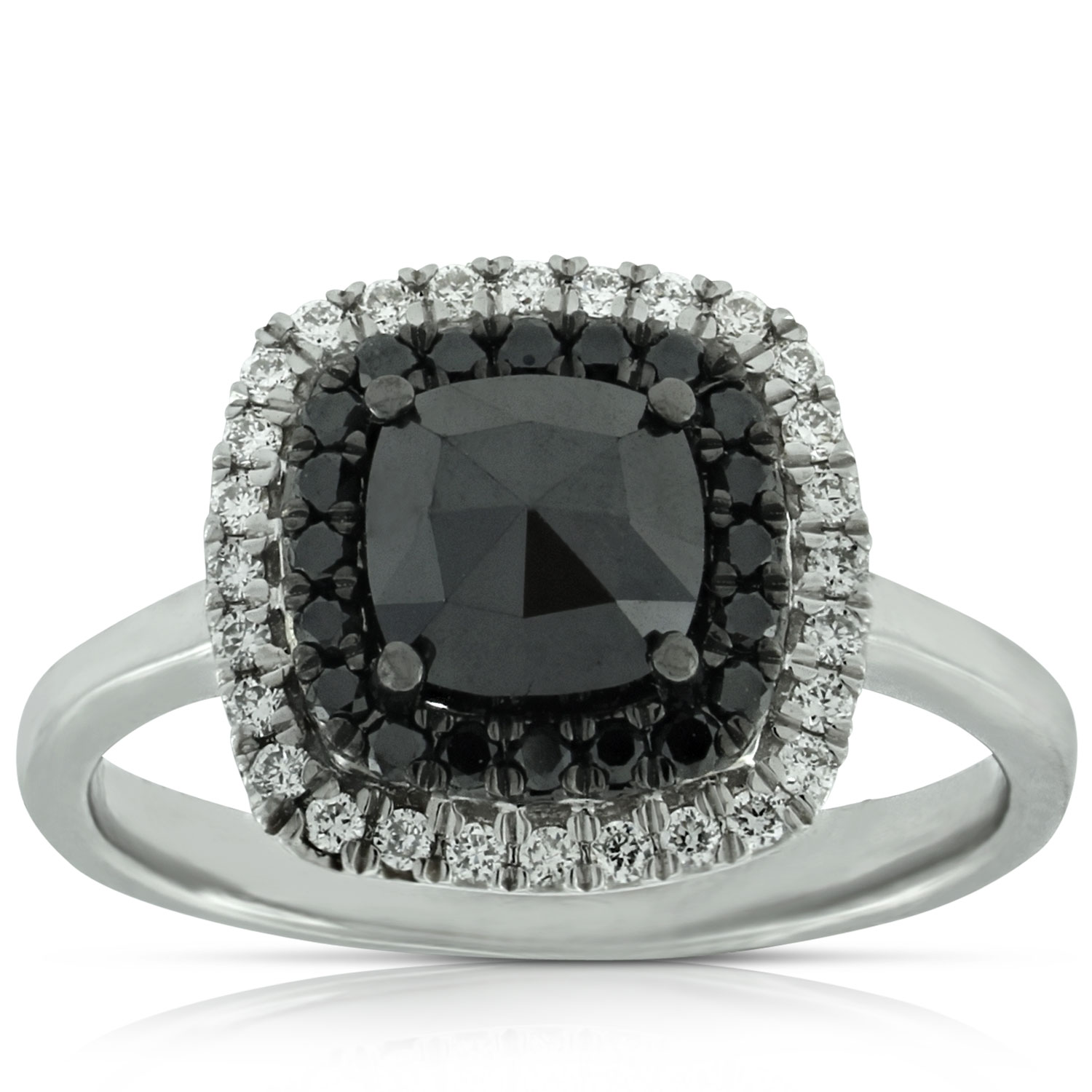 black s engagement diamond jewellery ring barkevs front barkev