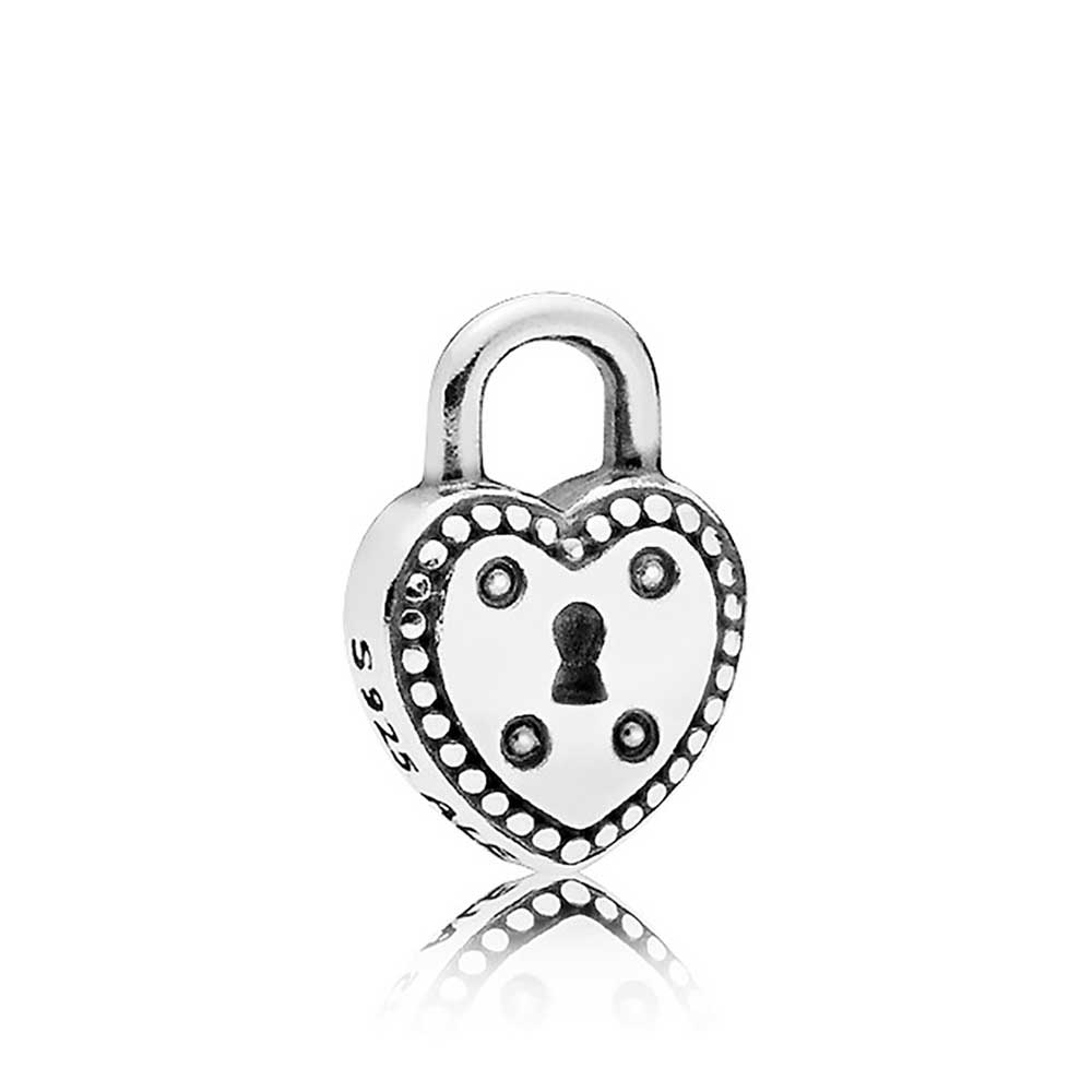 710b9aa6a PANDORA Love Lock Petite Locket Charm - 796569 | Ben Bridge Jeweler