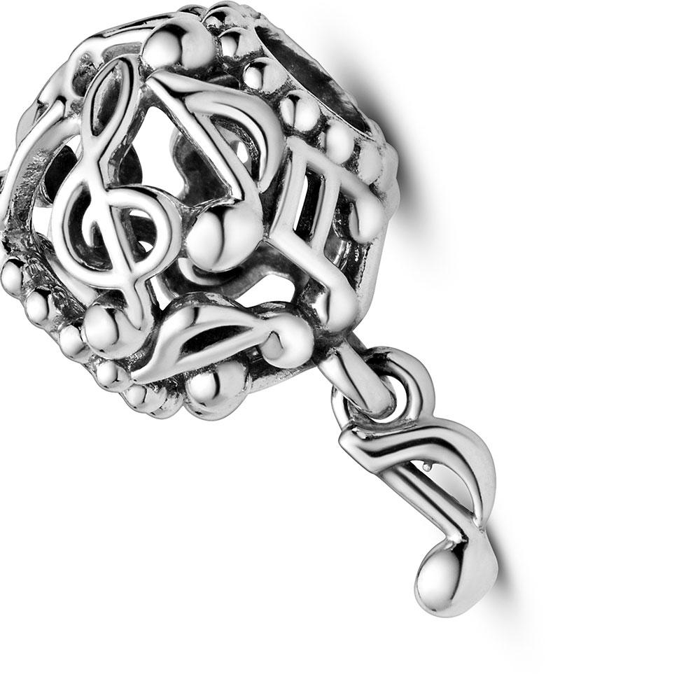 Pandora Passions Openwork Music Notes Charm