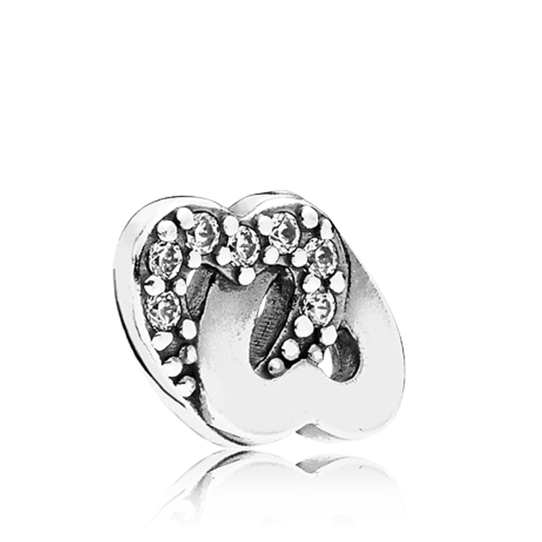 Pandora Entwined Love Cz Petite Locket Charm 792164cz