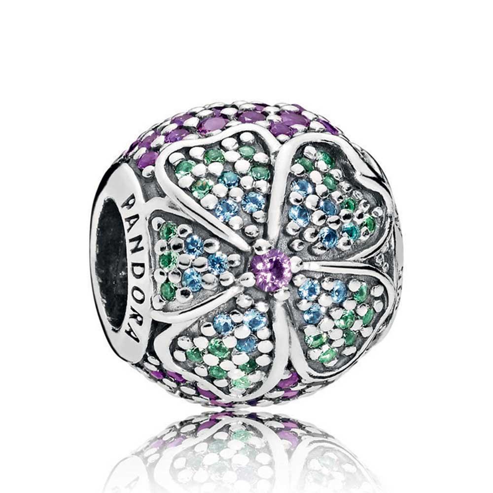 Pandora Glorious Bloom Crystals Charm 797067nrpmx Ben
