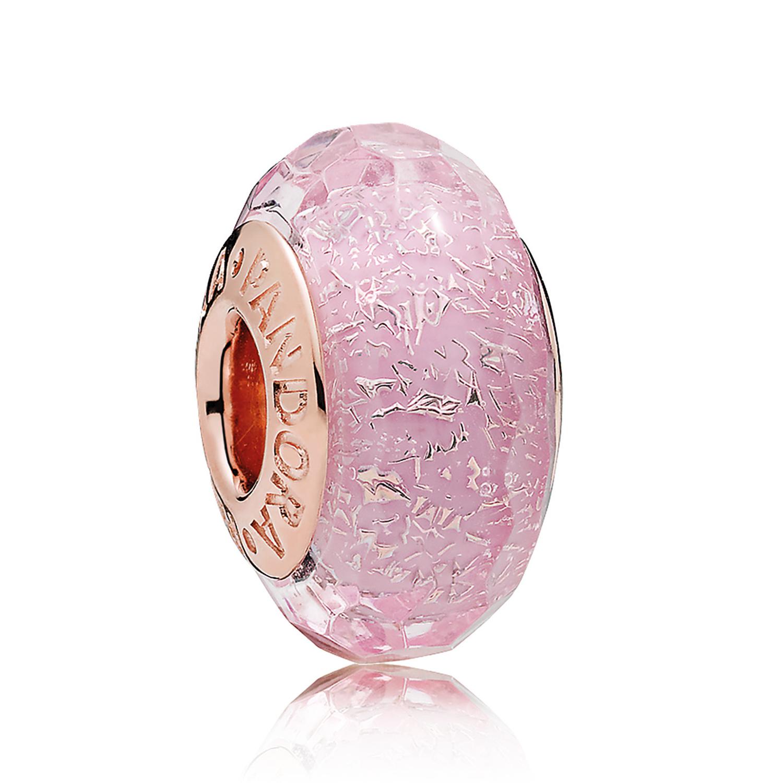 charm murano rose pandora