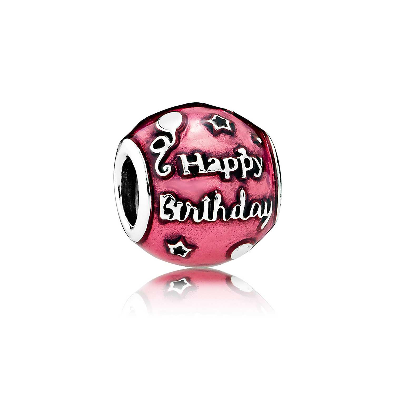 0397faca5 PANDORA Birthday Celebration Charm - 791983EN117 | Ben Bridge Jeweler