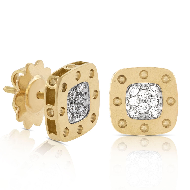 Roberto Coin Diamond Earrings 18k
