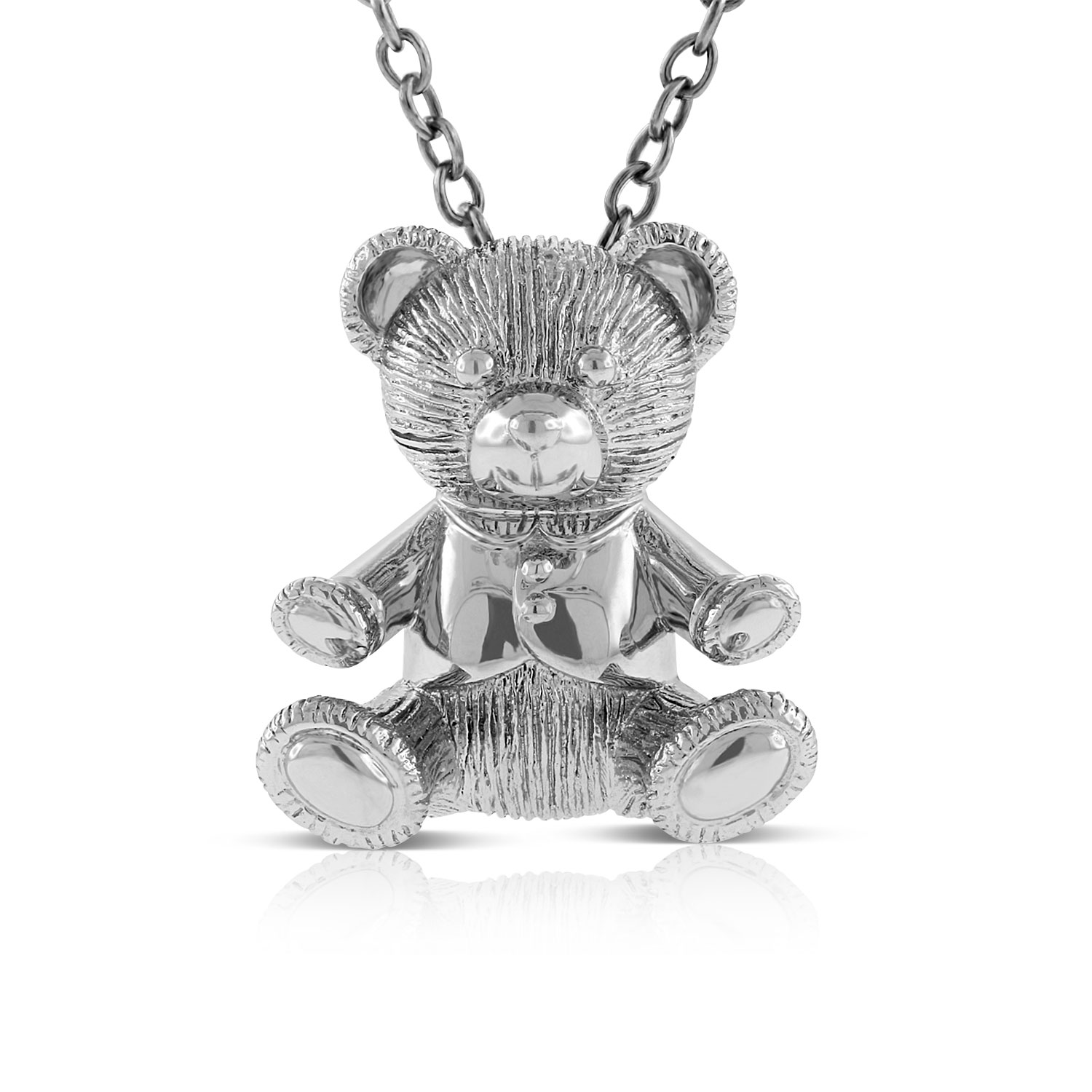2017 benny bear pendant in sterling silver ben bridge jeweler 2017 benny bear pendant in sterling silver aloadofball Images
