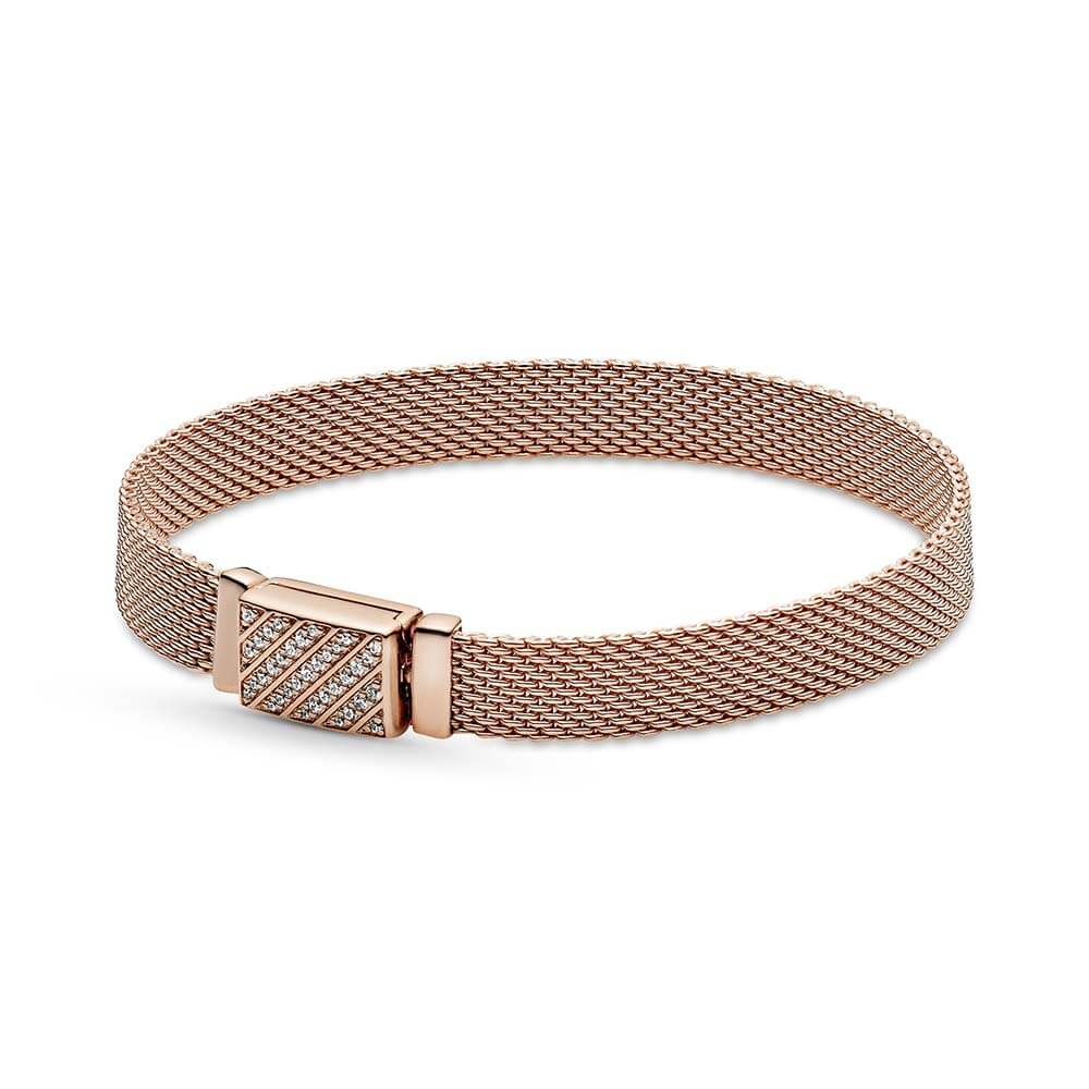 Pandora Rose™ Reflexions Long Clasp Pavé CZ Bracelet