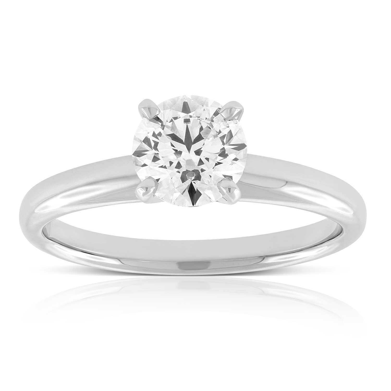 Ikuma Canadian Diamond Solitaire Ring 14k 1 Ct Ben Bridge Jeweler