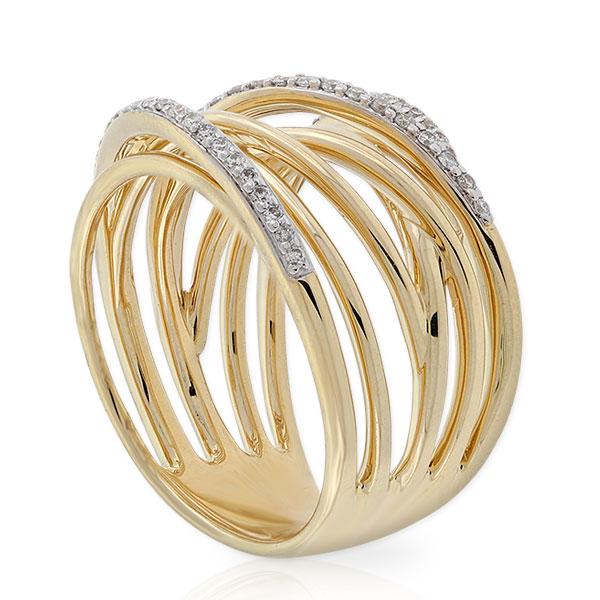 Multi Band Diamond Ring 14k Ben Bridge Jeweler