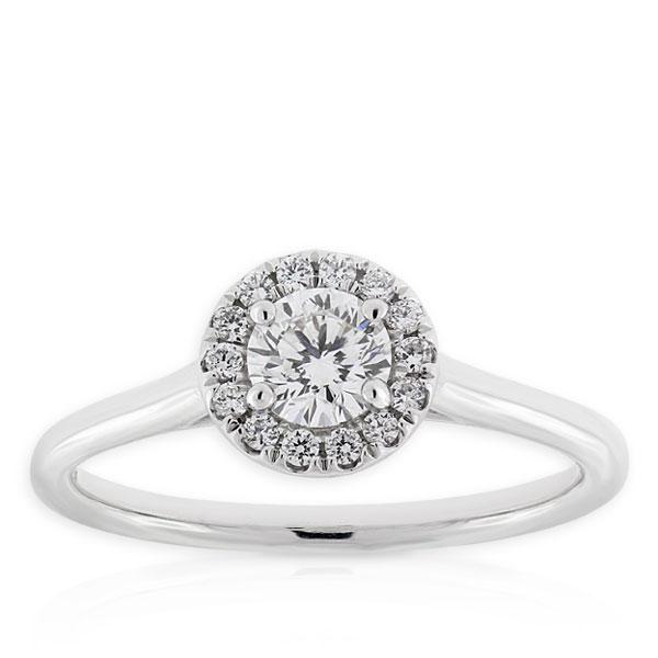 Signature Forevermark Diamond Ring 18K Ben Bridge Jeweler