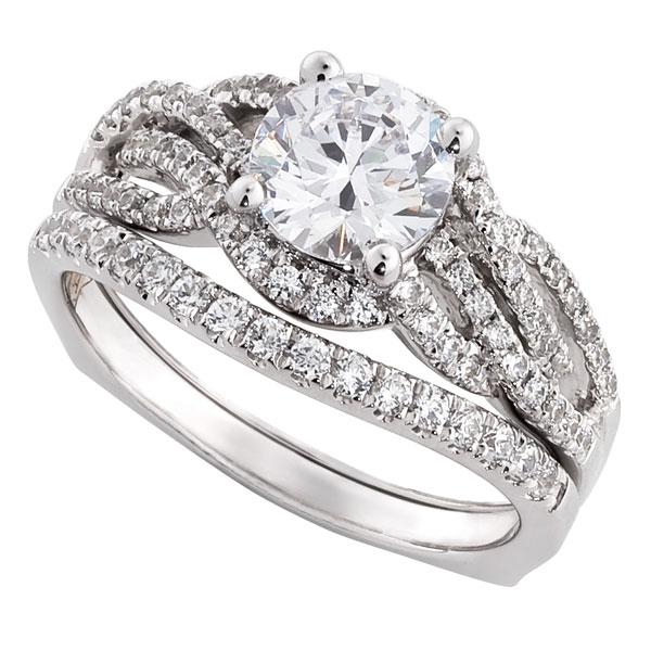 Ikuma Canadian Diamond Bridal Set 14K Ben Bridge Jeweler