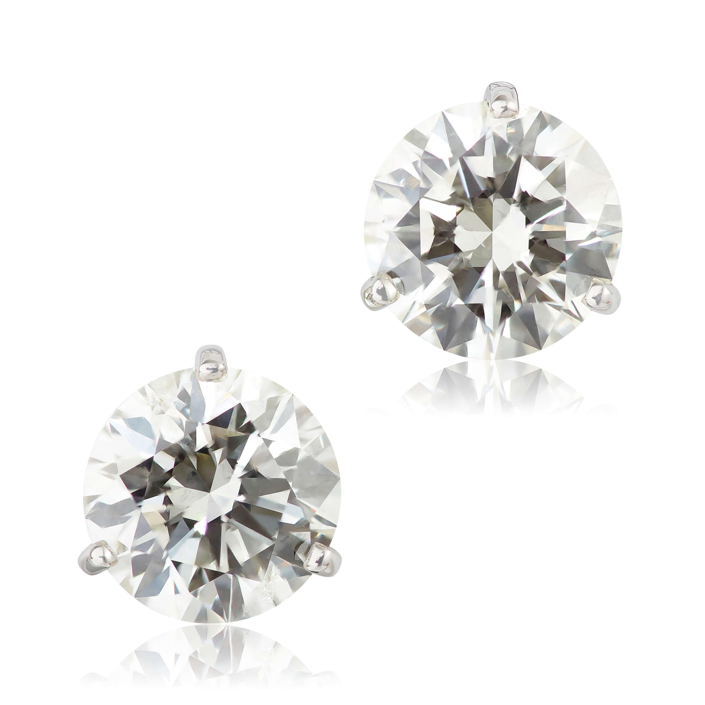 58002c4e2 Ikuma Canadian Diamond Earrings 14K, 3 ctw.   Ben Bridge Jeweler