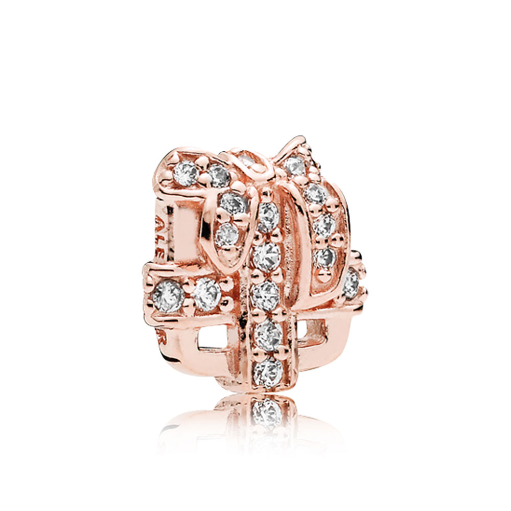 Pandora Rose All Wrapped Up Cz Petite Locket Charm