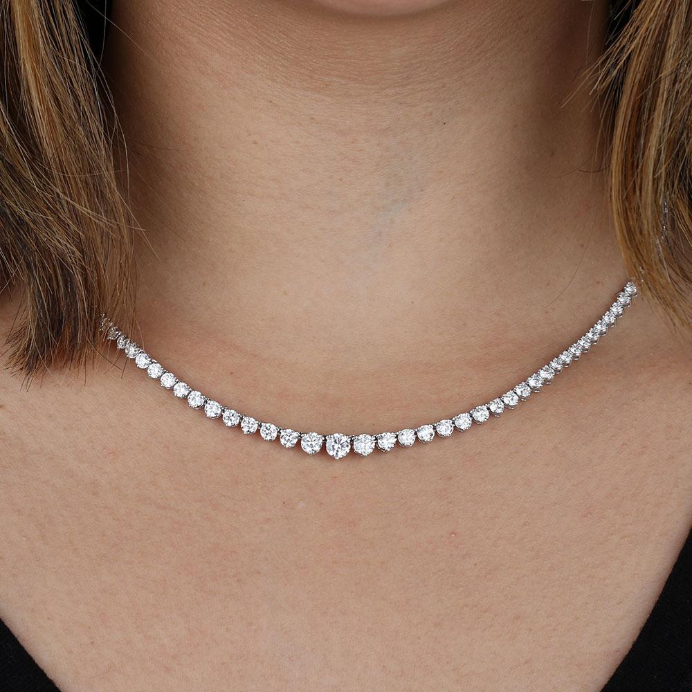Riviera Diamond Necklace 8 Ctw 14k Ben Bridge Jeweler