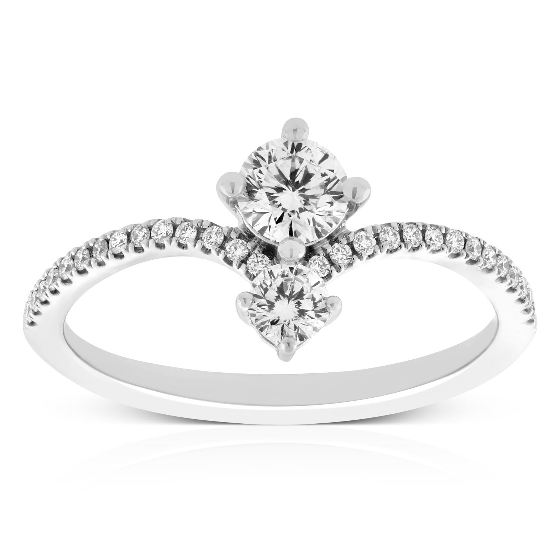 188293c1836c3 Signature Forevermark Diamond Ring 18K