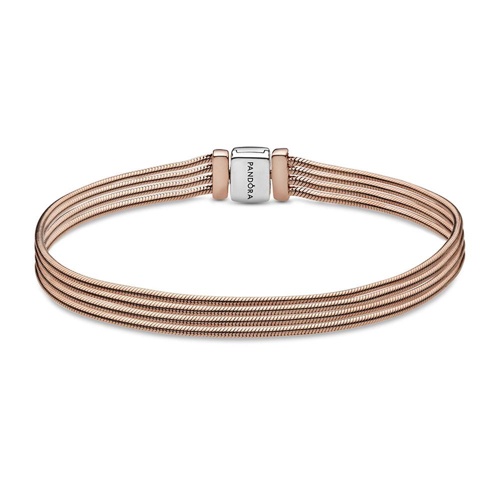 bracelet pandora en or